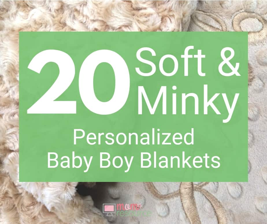personalized baby boy blankets