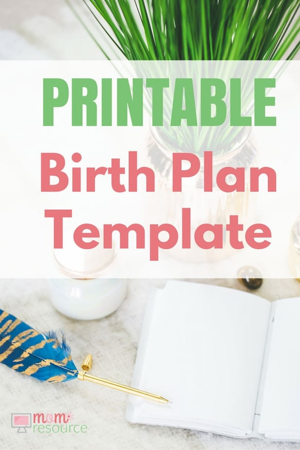 Birth Plan Template | Birth Plans Birth Plan Templates To Download Print