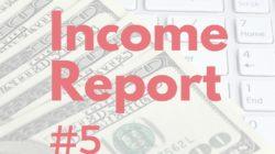 Online Income & Traffic: April 2015
