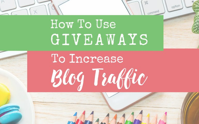 How Heather Uses Giveaways to Increase Traffic