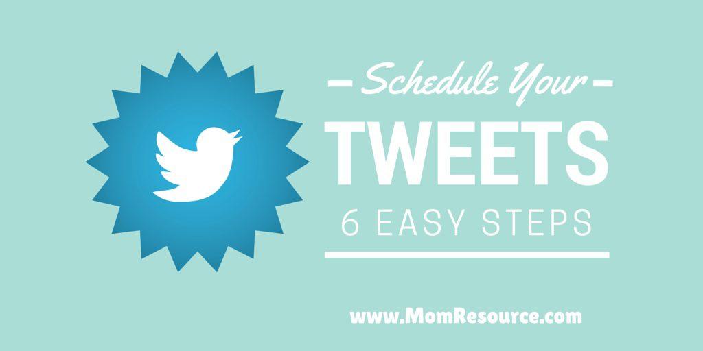 schedule tweets cover