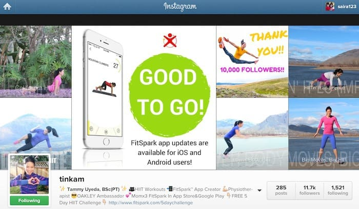 build brand instagram