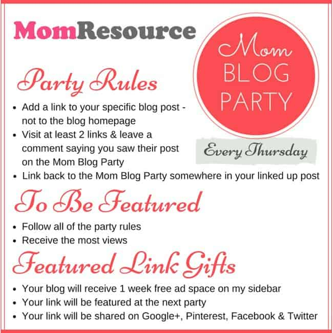 blog party rules