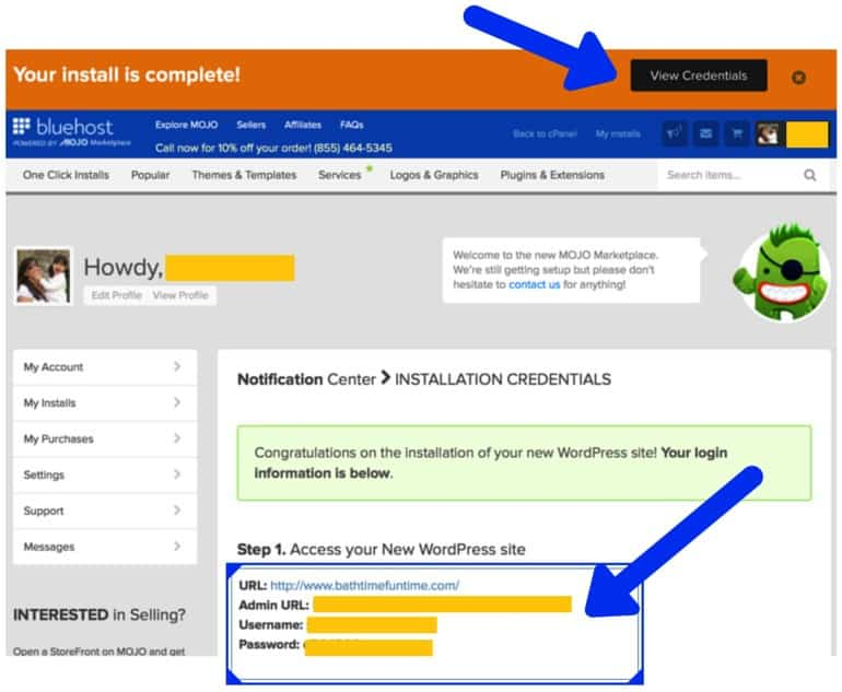 how to start a successful blog signup4