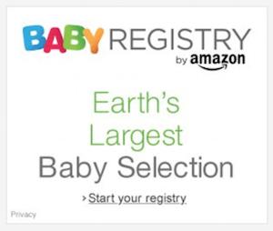 baby registry banner