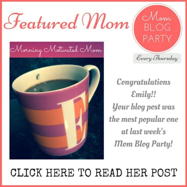 mom blogs winner week 11