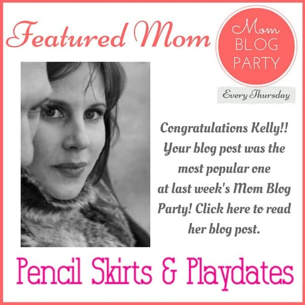 Each week MomResource.com hosts the Mom Blog Party for mom bloggers to share their best posts. This week's most popular link party post was shared by Kelly from Pencil Skirts & Playdates. Congratulations Kelly, and thanks for sharing great content with other mom bloggers at the Mom Blog Party Link Party!