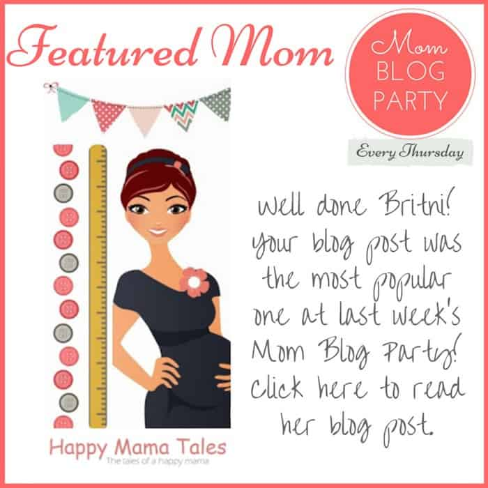 mom blogs winner week 14