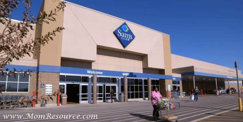 small business owner sams club