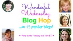 Wonderful Wednesday Blog Hop #130