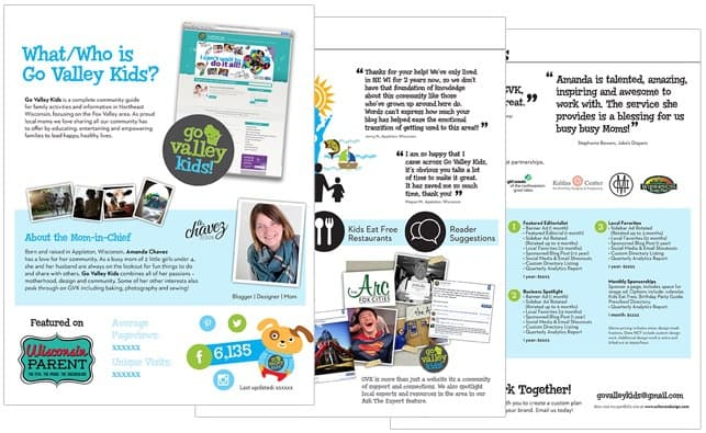 Looking for Media Kit design ideas? Here are designs & ideas to inspire your media kit. Lots of Media Kit ideas & Media Kit examples, so you can build your own Media Kit template. www.momresource.com/media-kits via @momresource