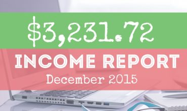 My Blog Income Report: 2015