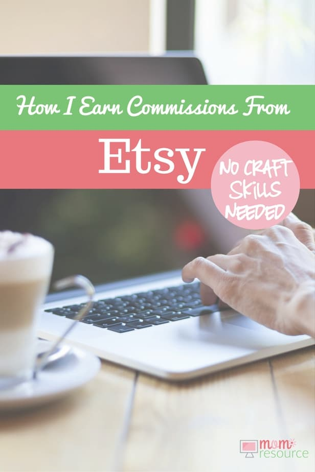 Make money at home - become an Etsy affiliate! Affiliate marketing is an awesome way to promote others who work from home & make money from home yourself. Etsy is packed full of crafts to make and sell & with affiliate marketing you can make money online too. Are you already an Etsy seller? SHARE this post with YOUR CUSTOMERS, so they can make money online promoting your store! FIND OUT MORE about the Etsy affiliate program here. http://www.momresource.com/etsy-affiliate-program