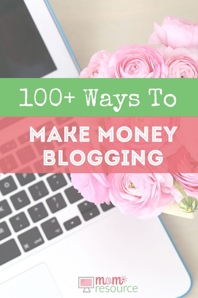 100 ways to Make Money Blogging