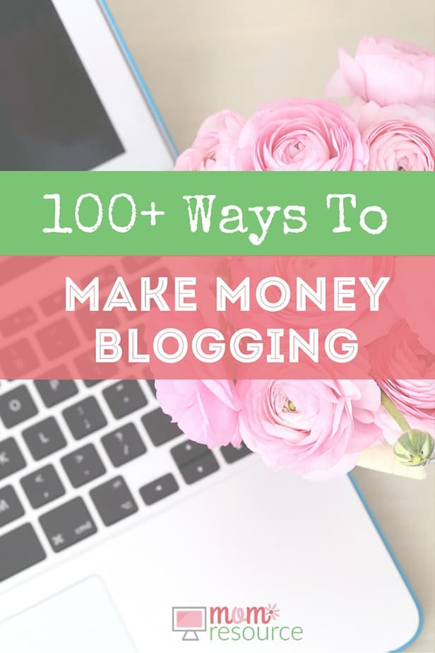 Want to make money at home? Wonder how to make money blogging? You can make money online & make money from home like we do! Here are 100+ ways to make money blogging, so you can find out how to make money blogging. I'll give you a headstart with this list of 100 ways to make money blogging. These have been specifically chosen for mom bloggers, but if you're still reading this, it's probably going to be useful for you too. No blog yet? I can help you get started with that too!