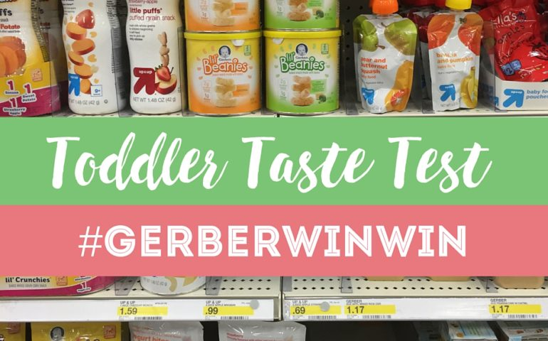 Snacks For Toddlers Taste Test