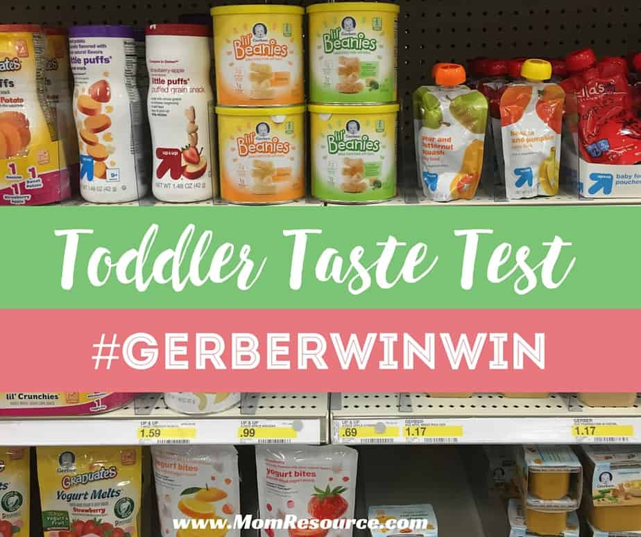 snacks for toddler taste test