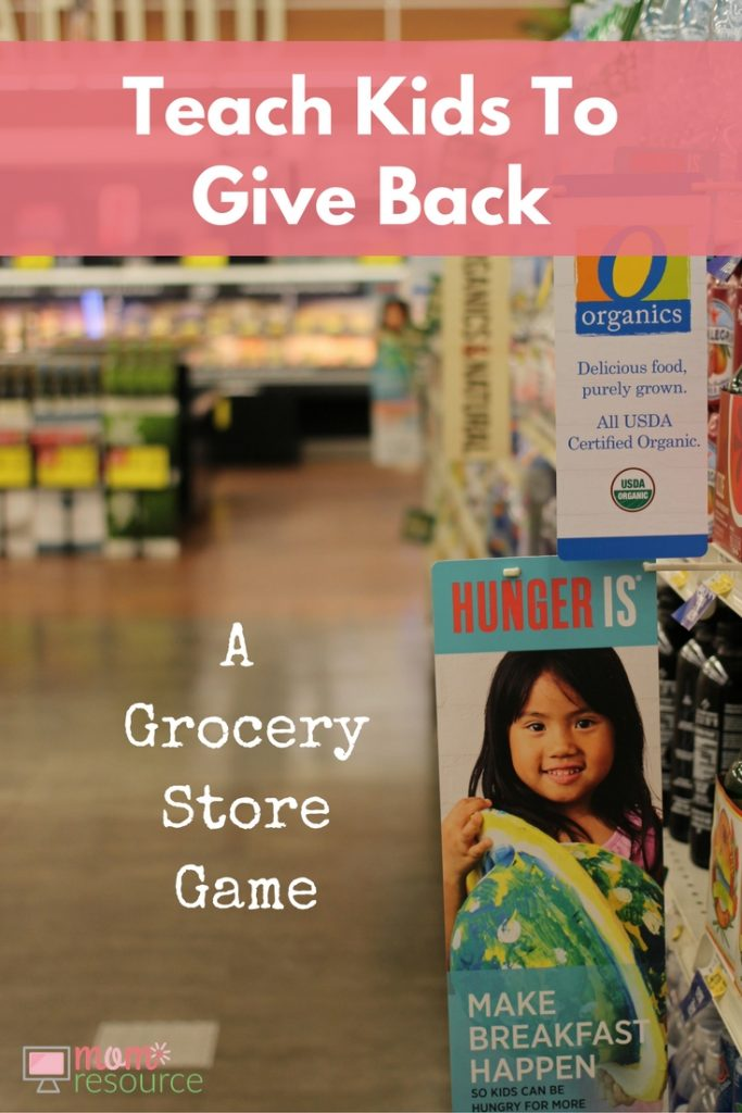 Your grocery list is ready & you're taking the kids. You need grocery store games for kids to keep them distracted while you shop. Here's a grocery store game where everyone wins! https://www.momresource.com/a-grocery-store-game-from-safeway/