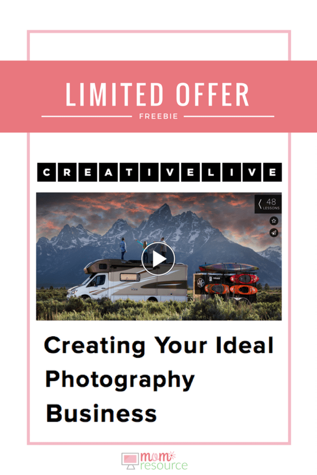 A photography business can be overwhelming. Whether you're making the leap from part-time to full-time or starting your very first photography business, this 48-lesson video series comes with Exclusive bonus content, Lifetime access, anywhere, anytime, Streaming and downloadable files. Give your photography business a boost TODAY with this great offer! www.momresource.com/ photography-business/