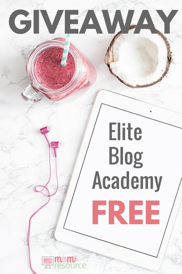 Elite Blog Academy is a must if you want to turn your blog into a business. You can blog without Elite Blog Academy, but it won't be nearly as easy or fun. Elite Blog Academy is for bloggers who are serious about making money online and turning the blog into a business. And now you can even get Elite Blog Academy for FREE here. http://www.momresource.com/elite-blog-academy-free