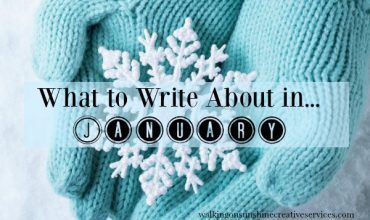 What To Write About In January