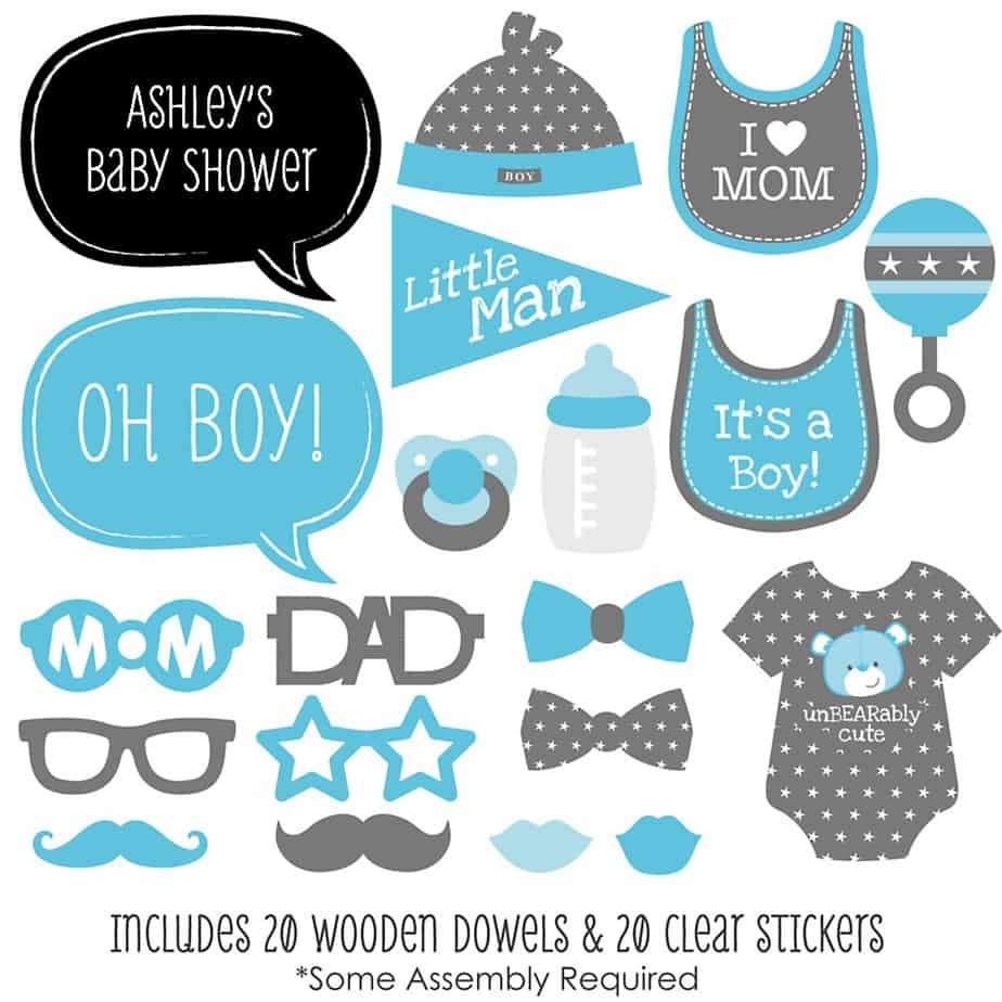 Baby Shower Games For Large Groups Boy