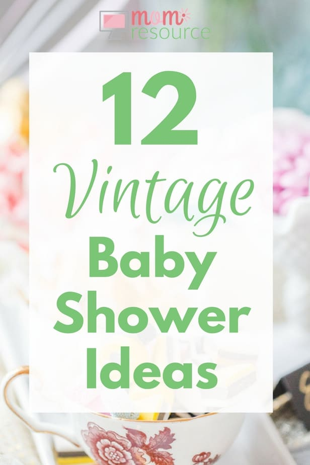Gender neutral baby shower ideas - Vintage Baby Shower Ideas So Many Vintage Baby Shower Ideas Here Including Vintage Baby Showers