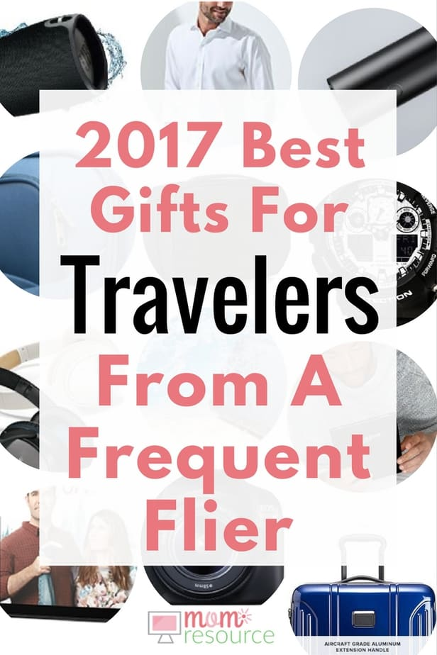 Want the BEST gifts for travelers? This list is brand new for 2017 & has the best gifts for travelers no matter who there are or what your budget. Click here to find the best gifts for travelers 2017: www.momresource.com/best-gifts-for-travelers-2017