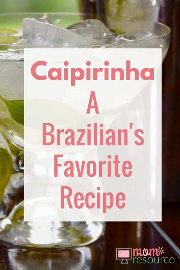 Caipirinha: a Brazilian's favorite recipe. My husband is Brazilian and we love serving this caipirinha cocktail drink recipe when having a party. There are SO many flavors to chose from in addition to the traditional lime recipe there is passion fruit, strawberry, pineapple, kiwi, raspberry - any fruit really! The caipirinha can be served everywhere from a casual party cocktail to a wedding bar. Make it by the pitcher or use it for a party punch. Here is the Brazilian's recipe for making a caipirinha. www.momresource.com/caipirinha-recipe