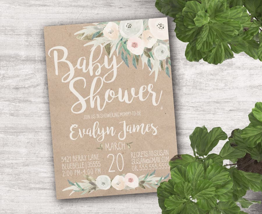 Attractive Rustic Baby Shower Ideas: Planning A Rustic Baby Shower? These Baby Shower  Ideas Are
