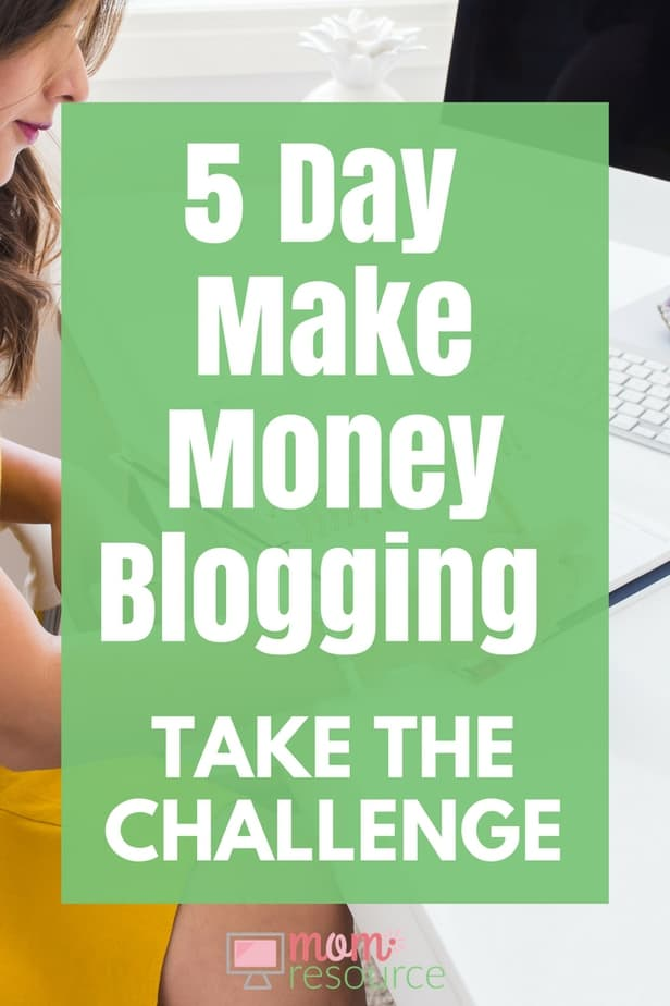 Make Money Blogging CHALLENGE for beginners! If you're ready to finally make money blogging - I mean a real FULL-TIME blog income - then you need to join this 5-day challenge to make money blogging. These are the best tips to make extra cash from your passive income website. This challenge is for beginners & for experts - for travel bloggers & mom bloggers - all people can get started fast with these tips & ideas… and the challenge makes it FUN! Get started today: https://www.momresource.com/make-money-blogging