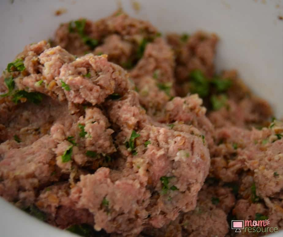 Easy Kibbeh Recipe: this Middle Eastern kibbeh recipe is great because you probably already have the ingredients in your kitchen. My family loves arabic food and Lebanese food, and I love that this Middle Eastern recipe is BAKED. Just take the raw meat and combine with the ingredients to make this easy baked kibbeh recipe: www.momresource.com/kibbeh-recipe