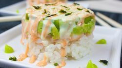 Spicy Shrimp Sushi