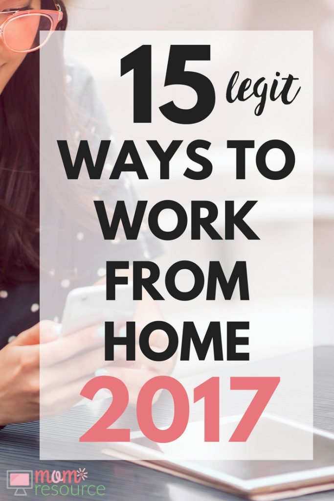 Ways To Make Money From Home: 15 LEGIT ideas to make extra cash. As a stay at home mom I make thousands of dollars in passive income through my website. It's easy to get started & these fun & simple tips can get your earning passive income from home too. Here are the facts about legit, easy ways to work for home and start earning extra cash right now. Perfect for moms, parents & students - any people with families looking to get started making extra cash quick. www.momresource.com/legit-ways-to-make-money-from-home-extra-cash