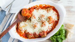 Meatball Parmesan Casserole Recipe & Party