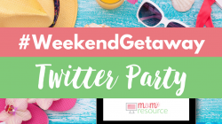 #WeekendGetaway Twitter Party