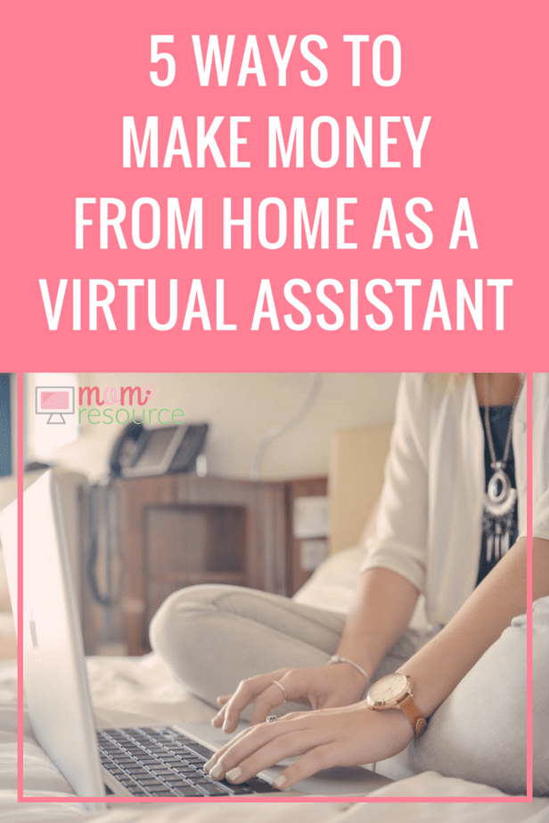 5 Ways To Make Money From Home As a Virtual Assistant from Mom Resource: Looking for legit Ways To Make Money From Home? It can be easy for you to get started with extra cash from home. Here are tips & ideas to fit any lifestyle. Get started TODAY: https://www.momresource.com/5-ways-to-make-money-from-home-as-a-virtual-assistant/