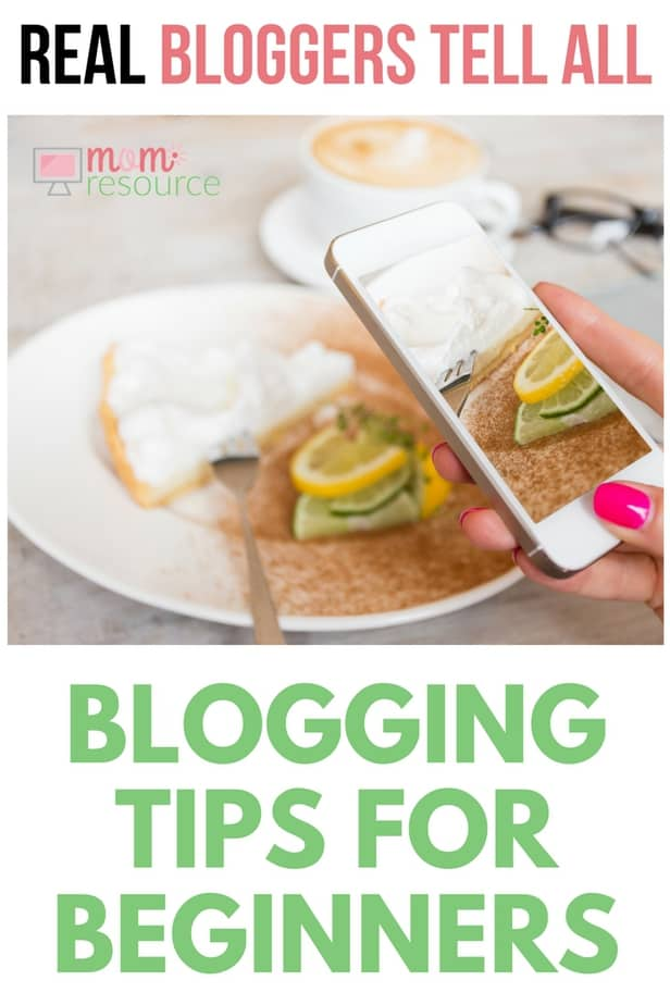 Blogging tips for beginners: from wordpress to ideas to money to posts, these real bloggers share their blogging tips for beginners. If you're looking to get started & make money with a website, these real bloggers talk social media & posts & life. Get their top blogging tips for beginners here! www.momresource.com/blogging-tips-for-beginners