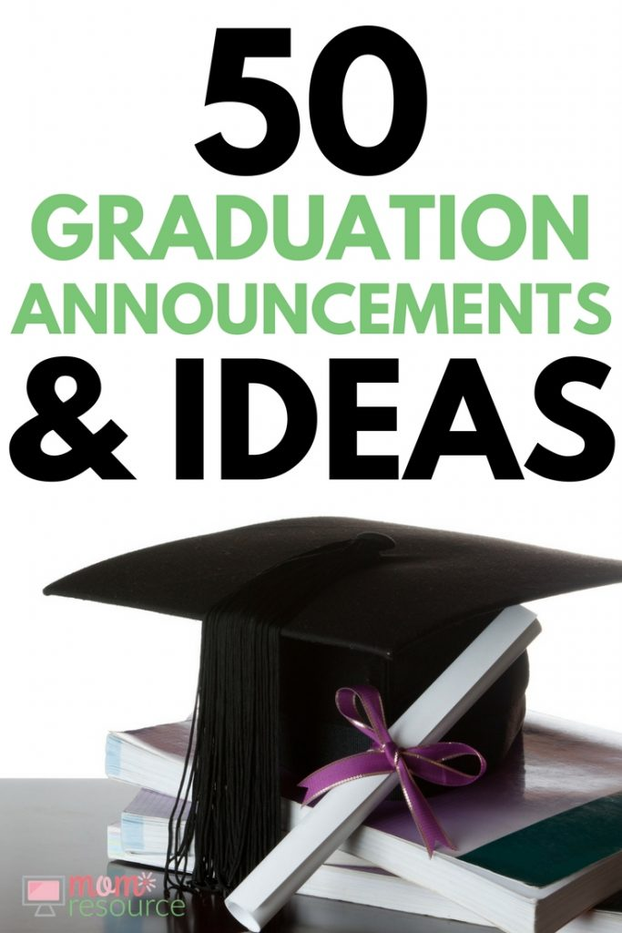 Need graduation announcements? Here are all the best graduation announcement ideas in one convenient place: graduation announcements for high school & college, for guys & for girls, simple & creative - all in one place.