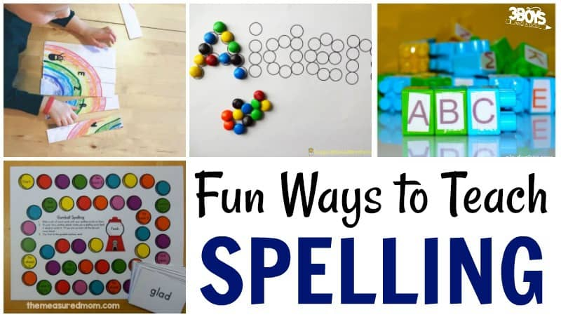 Spelling Activities For Beginners