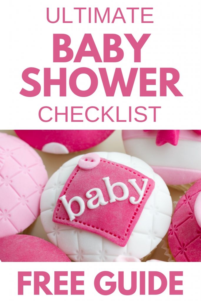 baby shower checklist planner