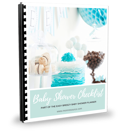 Quick Easy Baby Shower Checklist With Timeline Printable