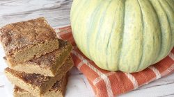 Blondie Pumpkin Spice Bars
