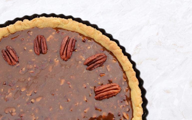 Thanksgiving Pecan Pie recipe