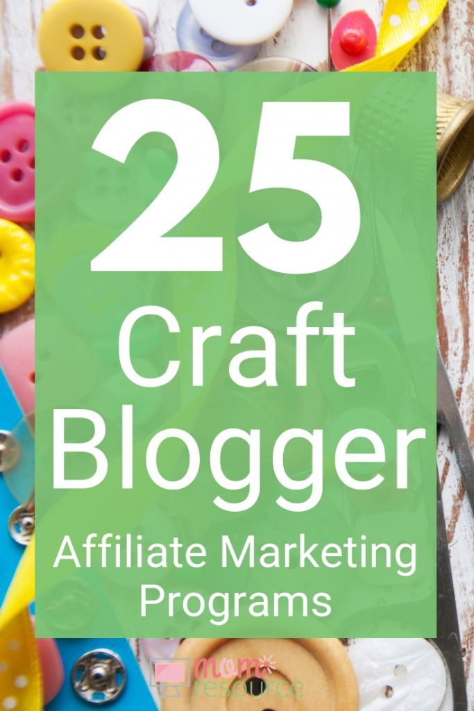 Looking for ideas for your craft blog? These affiliate programs are perfect to make money with your craft blog or DIY blog. These free affiliate programs are perfect for new bloggers or for beginners. These are products you already use from home, so they are perfect for your craft blog.