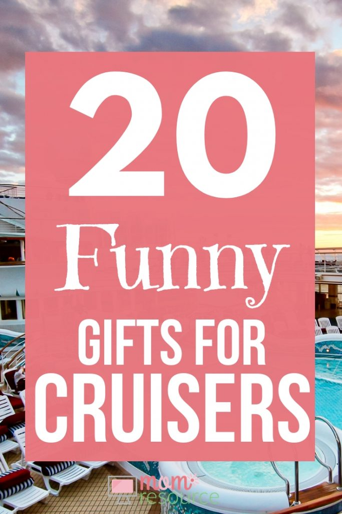 These funny gifts for cruisers are both unique & useful. Give practical gifts for cruisers in your life - gifts they will love to bring on their cruises. #cruise #cruising #cruiseship #gifts