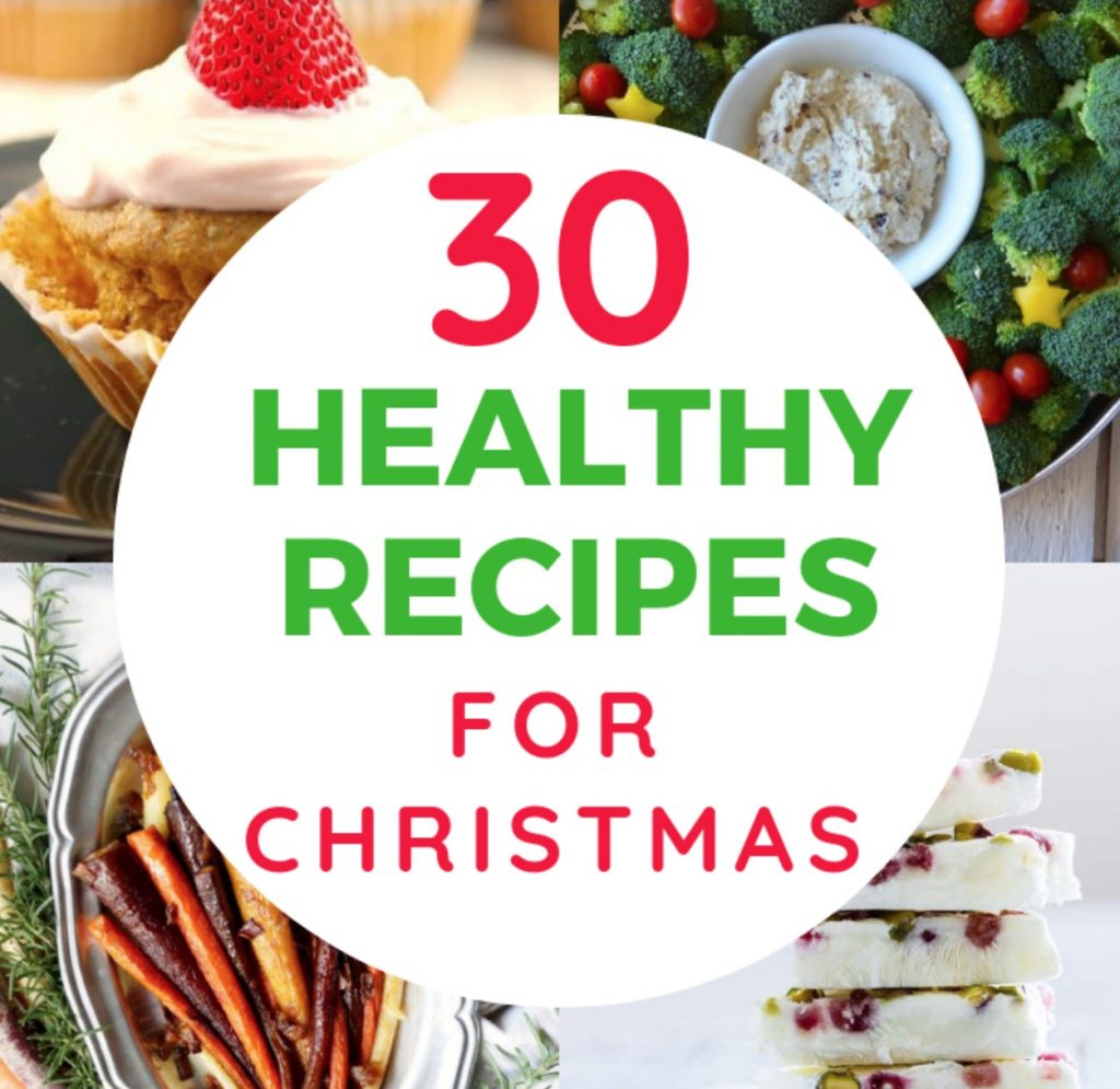 healthy recipes for christmas