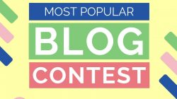 Most Popular Blog Post Contest