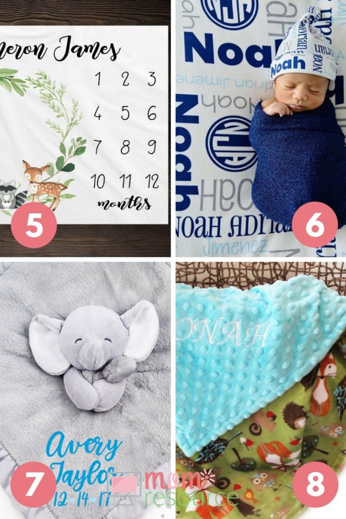 20 Personalized Baby Blankets For Boys Mom Resource
