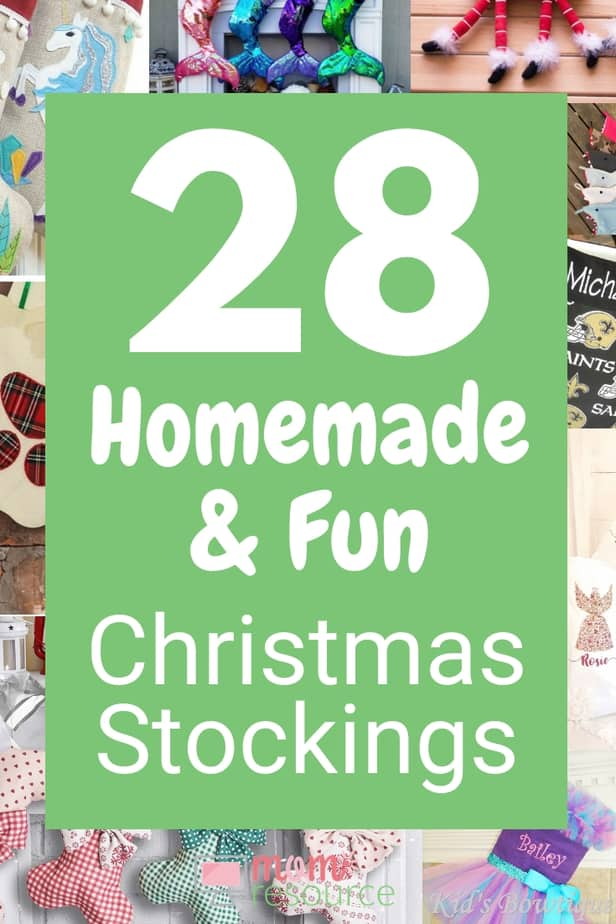Personalized Christmas Stockings Etsy Fun Homemade Mom Resource